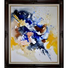 Ledent - Abstract 111160 Framed, High Quality Print on Canvas
