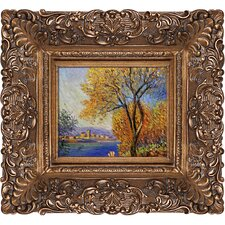 Antibes, View of Salis by Monet Framed Hand Painted Oil on Canvas