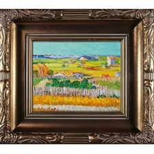 The Harvest Van Gogh Framed Original Painting