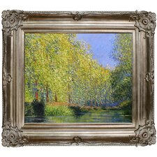Bend in the Epte River by Monet Framed Hand Painted Oil on Canvas