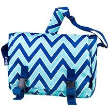 Zigzag Lucite Jumpstart Lapptop Messenger Bag