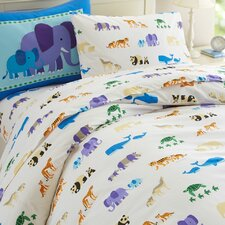 Olive Kids Endangered Animals Duvet Cover Collection