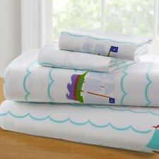 Olive Kids Pirates 210 Thread Count 100% Cotton Sheet Set