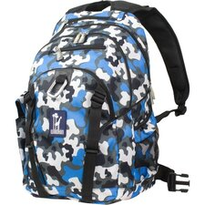 Camo Blue Serious Backpack