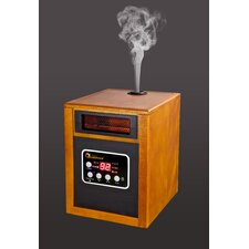5,200 BTU Portable Electric Infrared Space Heater with Humidifier