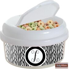 Zebra 12 oz. Snack Container