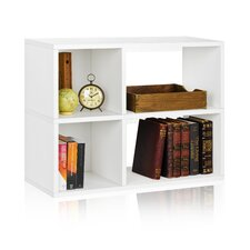 """Chelsea 24.8"""" Bookcase and Cubby Storage Shelf"""