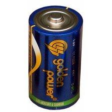 D Alkaline Batteries (Set of 4)