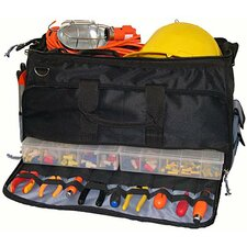 Large Easy Search Tool Bag with Plastic Tray