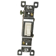 15A-120/277V Single Pole Toggle Switch in Almond