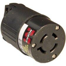 Female Multi-Pole Twist Lock Plug for Most Generator