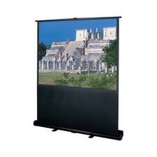 "Wide Power 60"" Diagonal Portable Projection Screen"