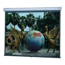 Model C Hight Contrast Matte White Manual Projection Screen