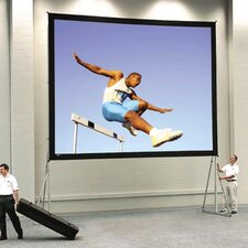 """Fast Fold Deluxe Ultra Wide Angle 210"""" Diagonal Portable Projection Screen"""