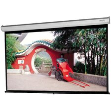 "Model C with CSR High Contrast Matte White 100"" Diagonal Manual Projection Screen"