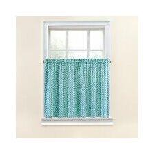 Lovely Lattice Tier Curtain