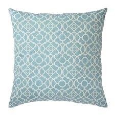 Lovely Lattice Decorative Cotton Throw Pillow (Set of 2)