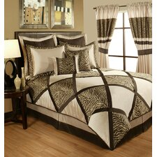 True Safari 4 Piece Comforter Set