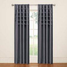 Ruffle Batiste Single Curtain Panel