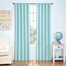 Kids Microfiber Window Curtain Panel