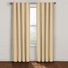 Twist Rod Pocket Window Single Curtain Panel