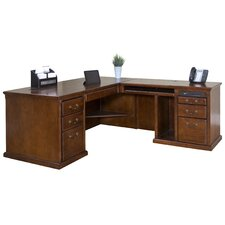 Huntington Oxford Right L-Shaped Executive Desk