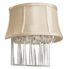 Silk 2 Light Wall Sconce