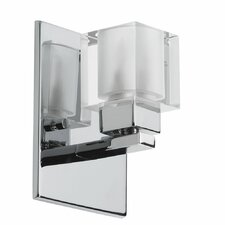 New Era Glass Cube 1 Light Wall Sconce