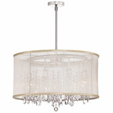 8 Light Crystal Chandelier