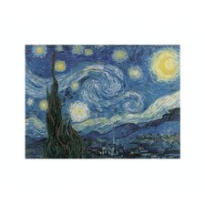 The Starry Night by Vincent Van Gogh Painting Print