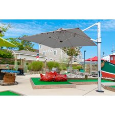 10 ft. Square Commercial Grade Eclipse Cantilever Umbrella