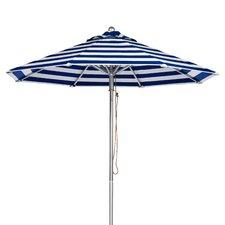 9 ft. Octagonal Commercial Grade Striped Aluminum Market Umbrella