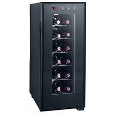 12 Bottle Single Zone Freestanding Wine Refrigerator