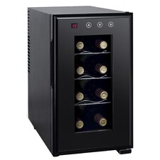 8 Bottle Single Zone Freestanding Wine Refrigerator