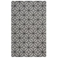Lunicca Hand-Tufted Gray Area Rug
