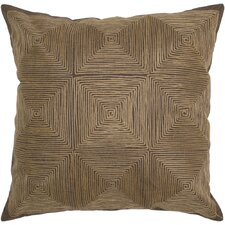 Decorative Accent Pillow Embroidered Details