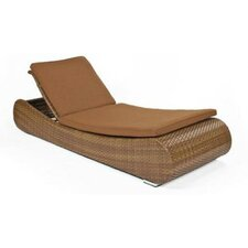 Long Island Single Adjustable Chaise Lounge with Cushion