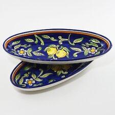 Citronique Design Oval Platter (Set of 2)