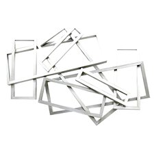 Metal Rectangles Wall Décor