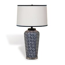 """Geo 27"""" H Table Lamp with Drum Shade"""