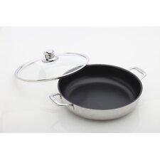 "Prestige 11.8"" Non-Stick Chef Pan with Lid"