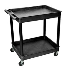 "Cart Serv Plas 2Tub 24""D X 32""W"