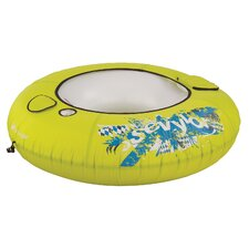 Inflatable River Tube with Cooler Covered