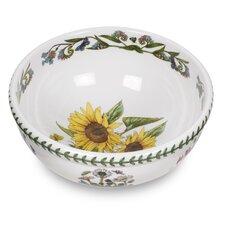 Botanic Garden Sunflower Motif Salad Bowl