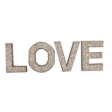 Chris Bruning LOVE Lettering Wall Décor