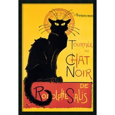 'Tournee du Chat Noir' by Theophile Alexandre Steinlen Framed Painting Print