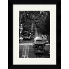 'Streets of San Francisco' by Sabri Irmak Framed Photographic Print