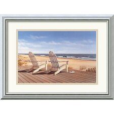 'Point East' by Daniel Pollera Framed Painting Print