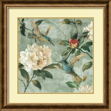 'Birds of A Feather I' by Renee Campbell Framed Painting Print