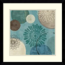 'Flora Mood II' by Veronique Charron Framed Painting Print